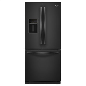 30-inch Wide French Door Refrigerator with Exterior Water Dispenser - 19.7 cu. ft. -