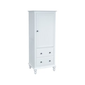 JOHN THOMAS FURNITURE2-Drawer Linen Cabinet in Beach White