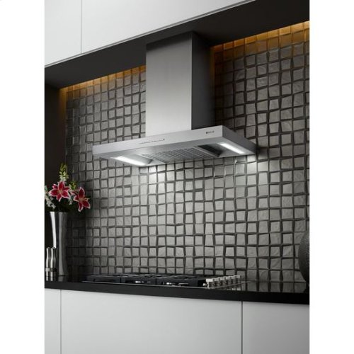 Low Profile Canopy Wall Hood, 36""