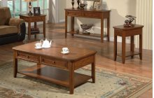 2-Drawer Coffee Table, 1-Drawer End Table $284.00, 2-Drawer Sofa Table $408.00 and 1-Drawer Chairside Table $224.00