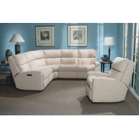 Catalina Leather Reclining Sectional Product Image