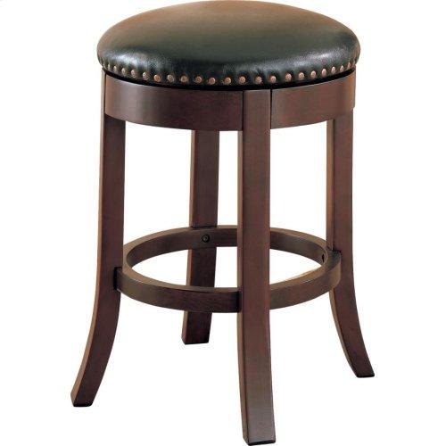 Casual Walnut Counter-height Bar Stool