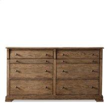 Sherborne Six Drawer Dresser Toasted Pecan finish