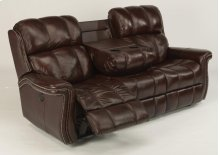 Challenger Leather Power Reclining Sofa