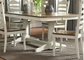 Double Pedestal Table Top