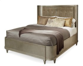 Morrissey Eastern King Lloyd Upholstered Shelter Bed