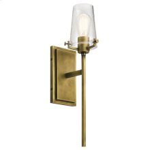 Alton Collection Alton 1 Light Wall Sconce NBR