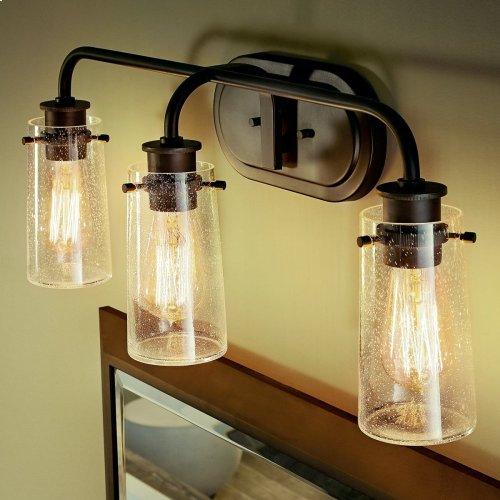Braelyn 3 Light Vanity Light Olde Bronze®