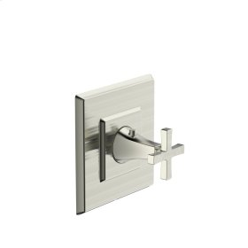 Thermostatic Valve Trim Leyden Series 14 Satin Nickel 1