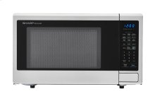 1.8 cu. ft. 1100W Sharp Stainless Steel Countertop Microwave (SMC1840CS)