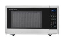 1.8 cu. ft. 1100W Sharp Stainless Steel Countertop Microwave (SMC1840CS)