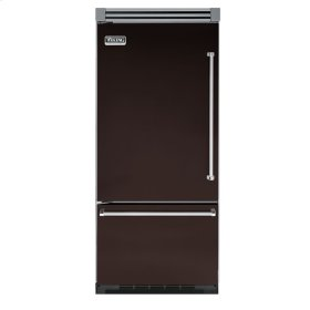 "Chocolate 36"" Bottom-Mount Refrigerator/Freezer - VIBB (Left Hinge Door)"