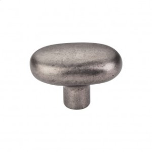 Aspen Large Potato Knob 2 Inch - Silicon Bronze Light