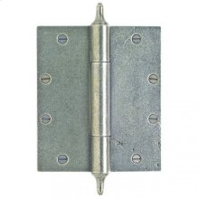 """Butt Hinge - 7"""" x 6"""" Silicon Bronze Brushed"""
