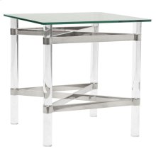 Morelia II Accent Table in Chrome