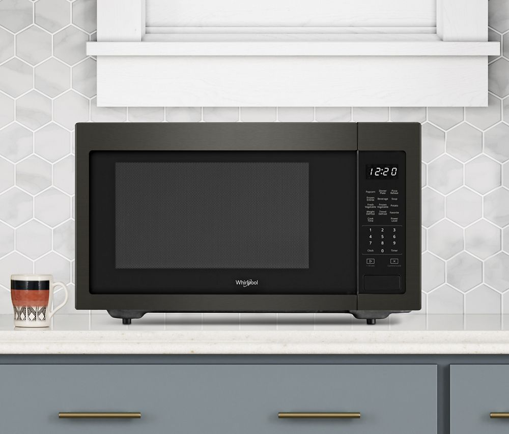 Wmc30516hv Whirlpool 1 6 Cu Ft Countertop Microwave With