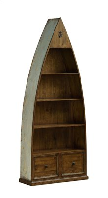 Tuscan Retreat® Boat Bookcase - Sea Blue