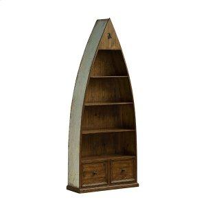 Tuscan Retreat® Boat Bookcase - Sea Blue