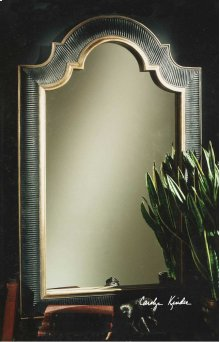 Ribbed Arch Mirror
