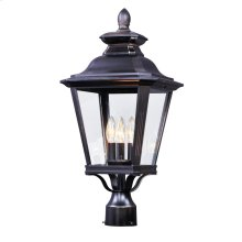 Knoxville 3-Light Outdoor Post