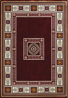 Antiquities Oriental Border Ruby Rugs