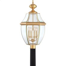 Newbury Brass Outdoor Lantern