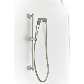 Slide Bar with Hand Shower Hudson (series 14) Satin Nickel