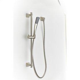 Slide Bar with Hand Shower Leyden (series 14) Satin Nickel