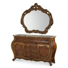 Sideboard and Mirror