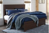 Arkaline - Brown 3 Piece Bed Set (King)