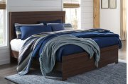 Arkaline - Brown 3 Piece Bed Set (King) Product Image