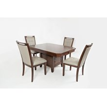 Manchester High/low Dining Table With Four Chairs