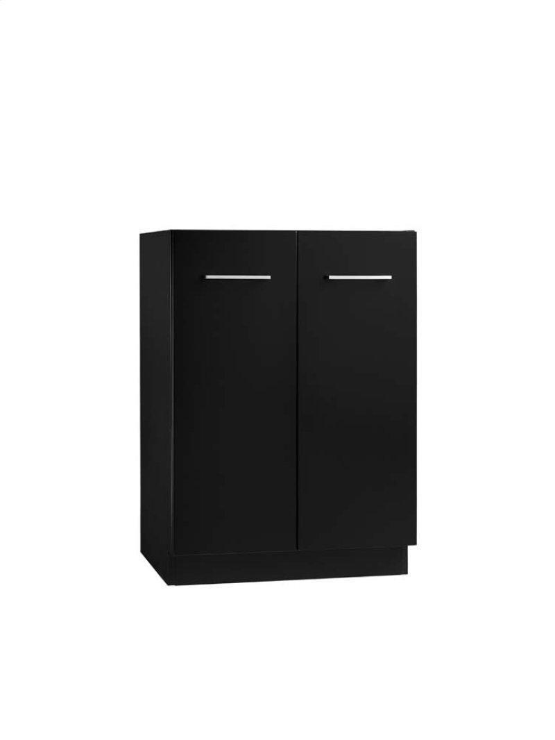 Arden 24 Eco Friendly Bathroom Vanity Cabinet Base In Black