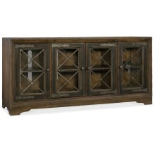 Home Entertainment Pipe Creek Bunching Media Console