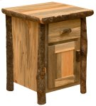 Glacier Enclosed Nightstand Product Image