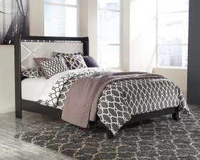 Fancee - Black 2 Piece Bed Set (Queen)