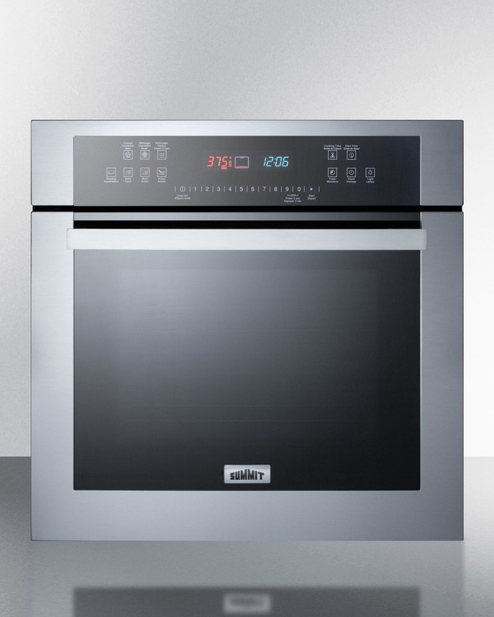 "Summit24"" Wide Electric Wall Oven"
