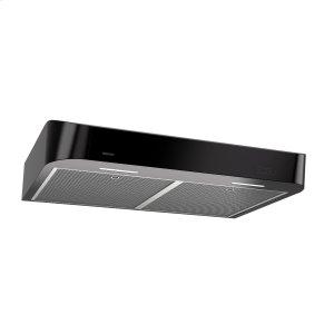 BroanBroan® 36-Inch Convertible Under-Cabinet Range Hood w/ Easy Install System, 250 CFM, Black