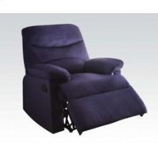 Blue Linen Recliner Product Image