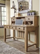 Trishley - Light Brown 2 Piece Home Office Set Product Image