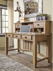 Trishley - Light Brown 2 Piece Home Office Set