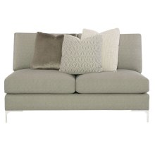 Eden Armless Loveseat
