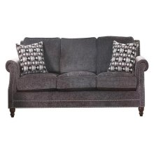 FABRIC LOVESEAT W/2 PILLOWS