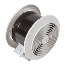 "6"" 90 CFM Room to Room Fan, 8"" Round Plastic Grille"