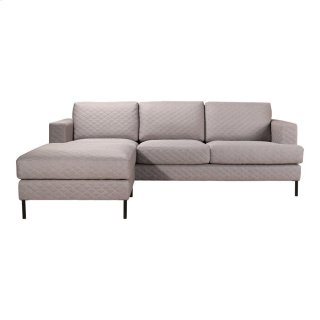 Galiano Reversible Sectional Light Grey