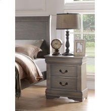 GRAY NIGHTSTAND