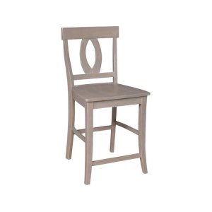 JOHN THOMAS FURNITUREVerona Stool in Taupe Gray