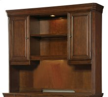 Home Office Cherry Creek Computer Credenza Hutch