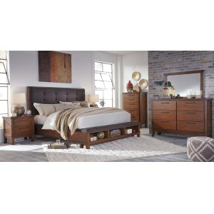Ashley Furniture Ralene - Medium Brown 5 Piece Bedroom Set
