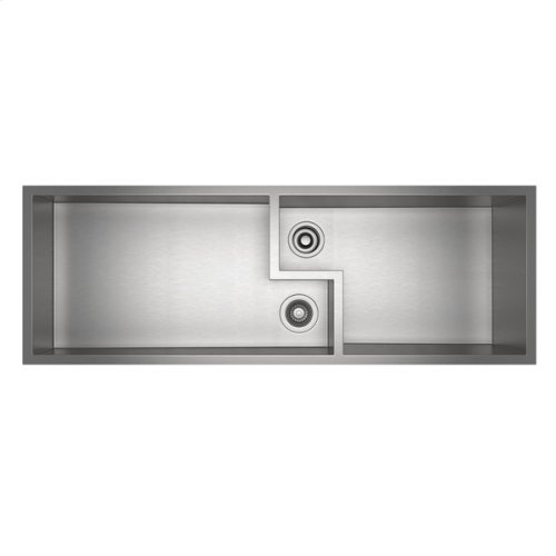 Culinario Double Ultimate Water Appliance Stainless Steel Sink